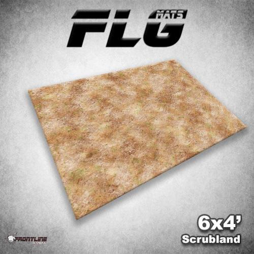 FLG Mats Scrubland 6x4