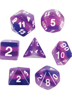 Purple Haze 7pc Layered Dice Set