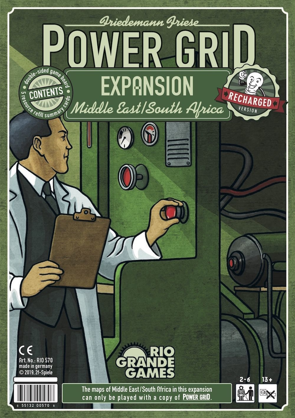 Power Grid: Expansion Middle East/South Africa