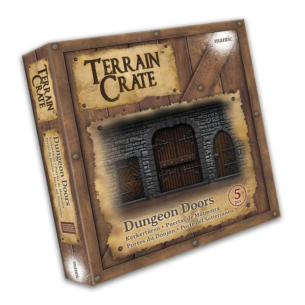 Terrain Crate - Dungeon Doors (Large)