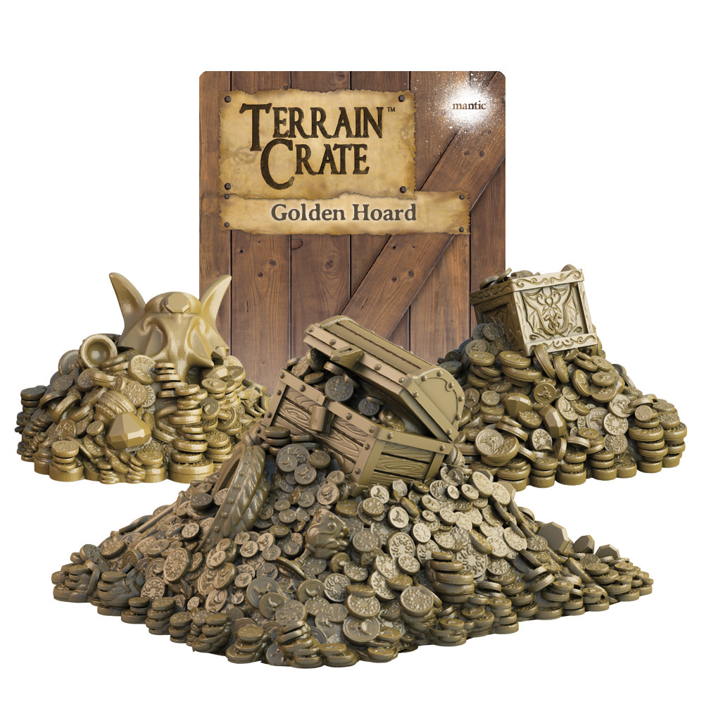 Terrain Crate - Golden Hoard