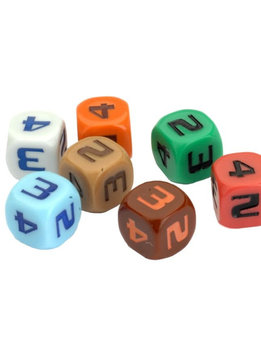 STAR TREK ASCENDANCY DICE - SPACE LANE SET