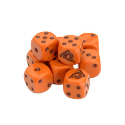 STAR TREK ASCENDANCY DICE - VULCAN SET