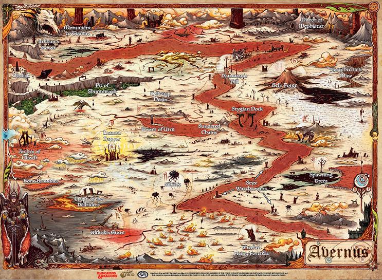 D&D Map - Avernus
