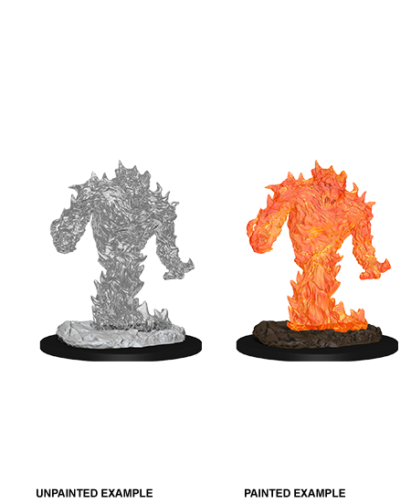 D&D Unpainted Minis: Fire Elemental