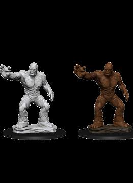 D&D Unpainted Minis: Clay Golem
