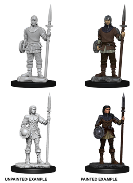 Wizkids Unpainted Minis: Guards