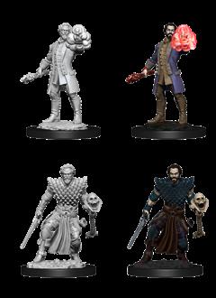 D&D Unpainted Minis: Human Male Warlock