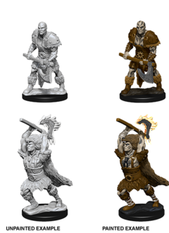 D&D Unpainted Minis: Goliath Male Barbarian