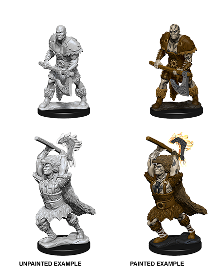 D&D Unpainted Minis: Goliath Male Barbarian