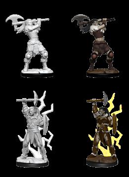 D&D Unpainted Minis: Goliath Female Barbarian