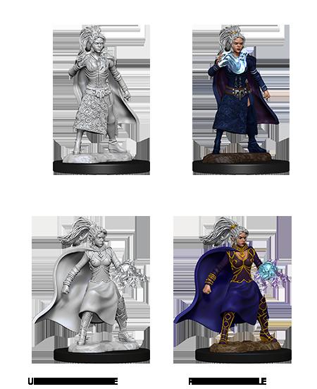 D&D Unpainted Minis: Human Female Sorcerer