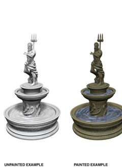 Wizkids Unpainted Minis: Fountain