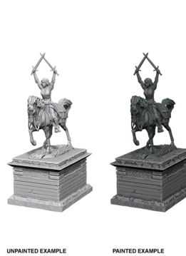 Wizkids Unpainted Minis: Heroic Statue