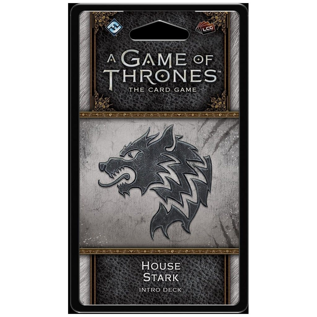 AGOT LCG House Stark Intro Deck