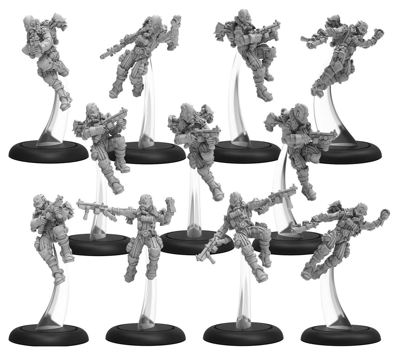 Golden Crucible - Rocketmen Unit