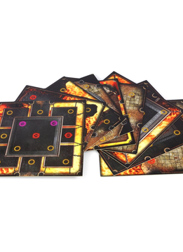 Dark Souls: The Board Game - Darkroot Basin & Iron Keep Tiles