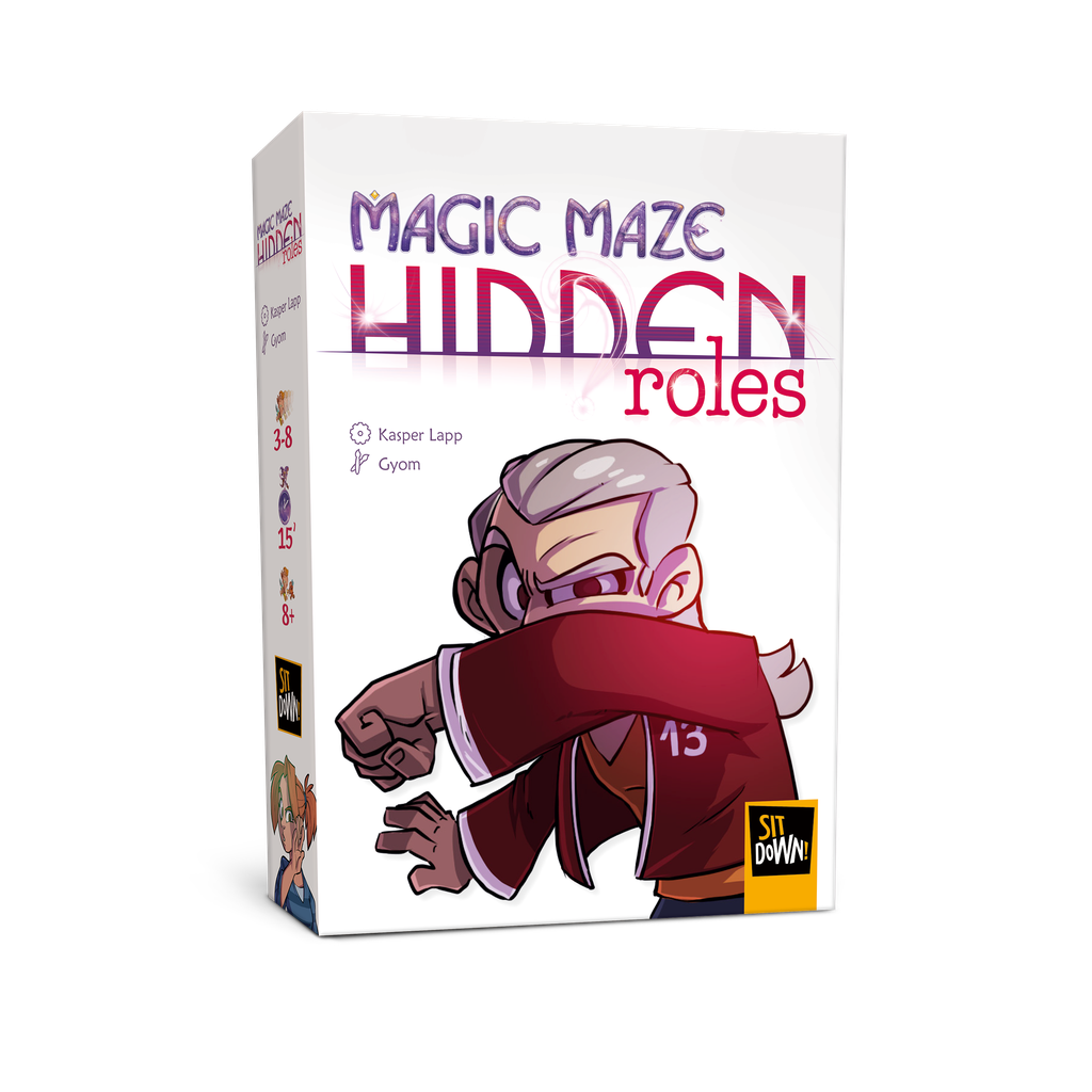 Magic Maze: Hidden Roles (FR)