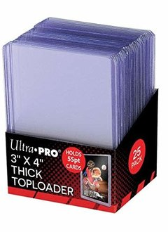 "UP Topload 3""x4"" 55pt Thick 25ct"