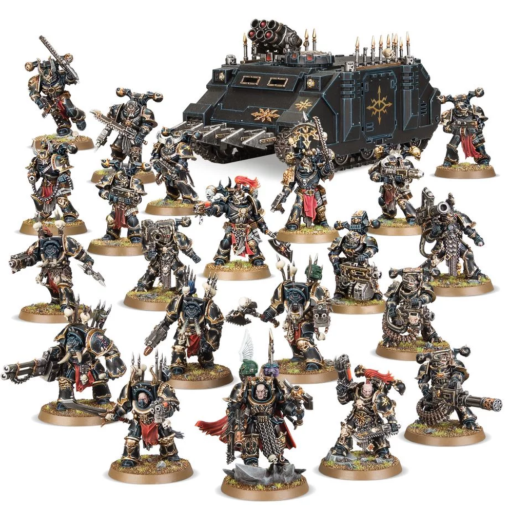 Chaos Space Marines Vengeance Warband