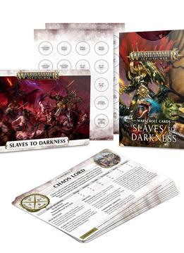 Warscroll Cards: Slaves to Darkness (EN)