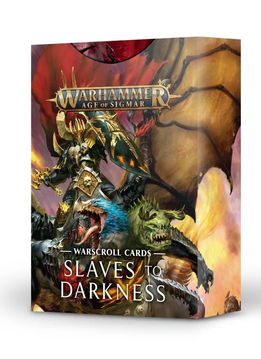 Warscroll Cards: Slaves to Darkness (FR)