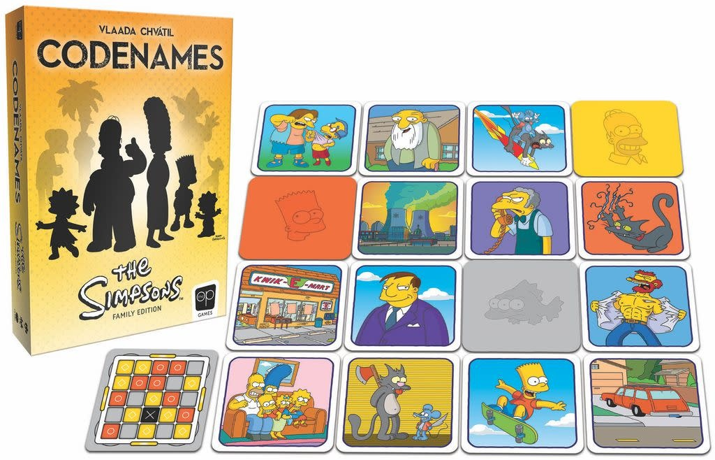 Codenames - The Simpsons