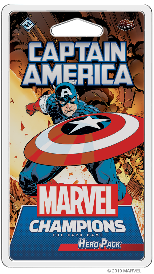 Marvel Champions - Captain America (FR)