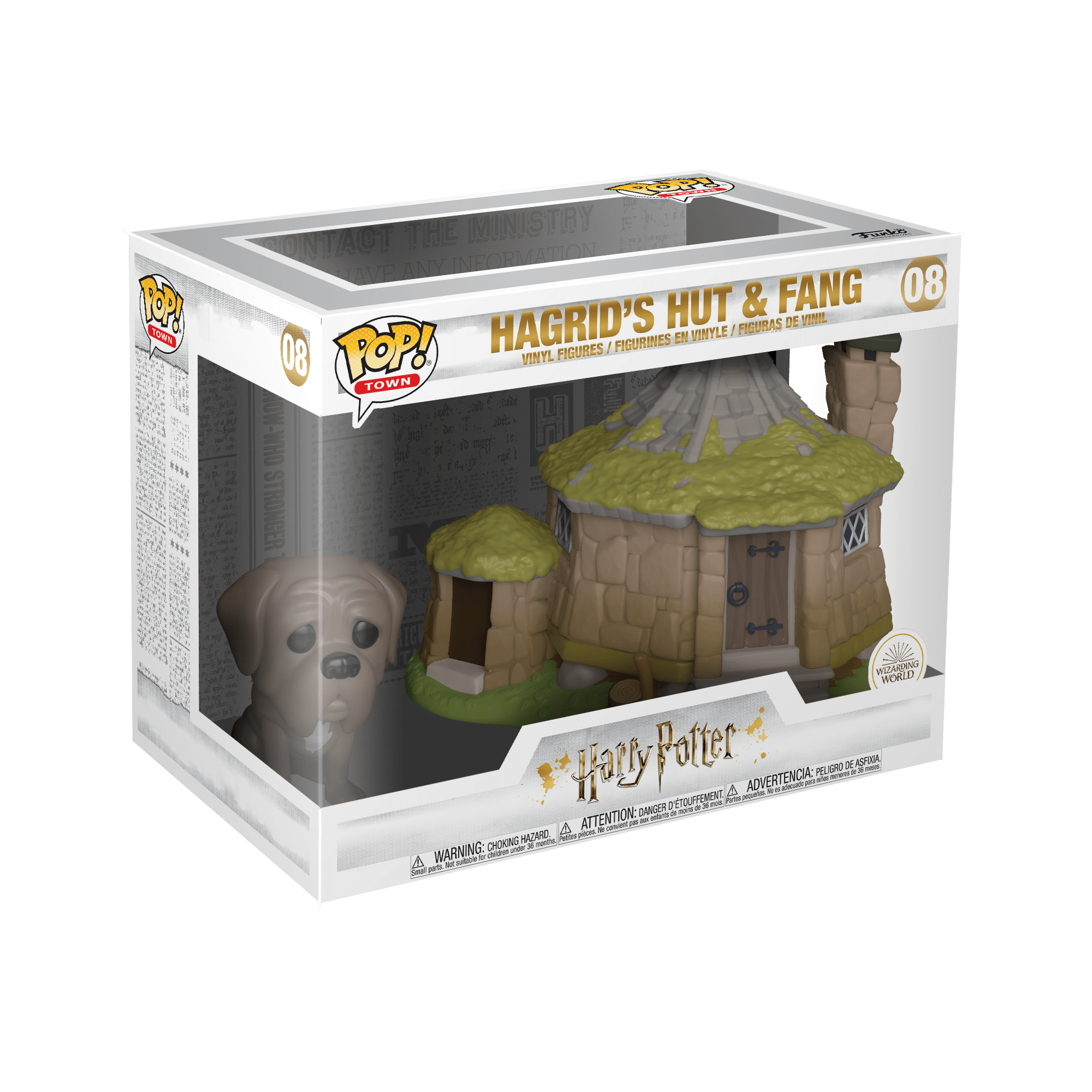 Pop! Harry Potter: Hagrid's Hut & Fang