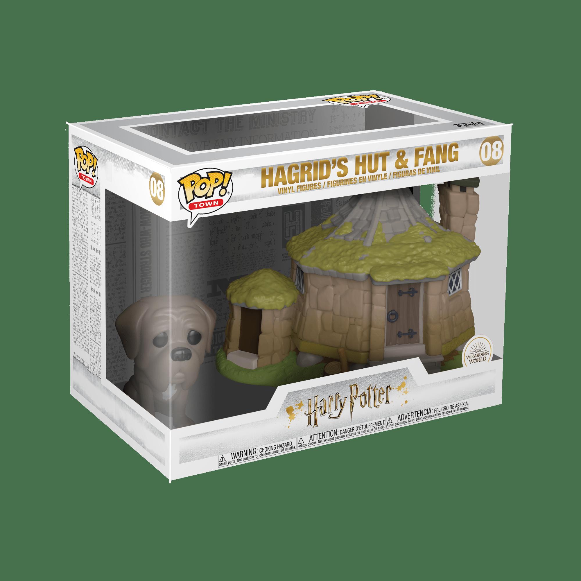 Pop! Harry Potter: Hagrid's Hut & Fang