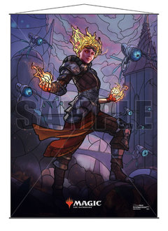 MTG Wall Scroll: Stained Glass Chandra