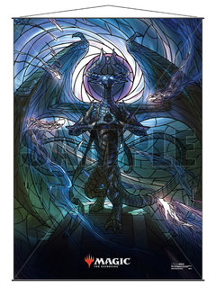 MTG Wall Scroll: Stained Glass Nicol Bolas