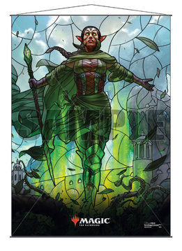 MTG Wall Scroll: Stained Glass Nissa