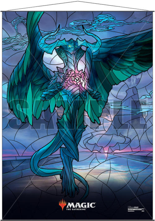 MTG Wall Scroll: Stained Glass Ugin