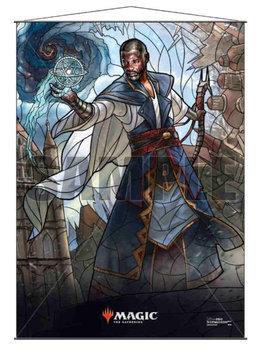 MTG Wall Scroll: Stained Glass Teferi