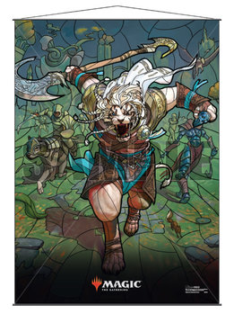 MTG Wall Scroll: Stained Glass Ajani