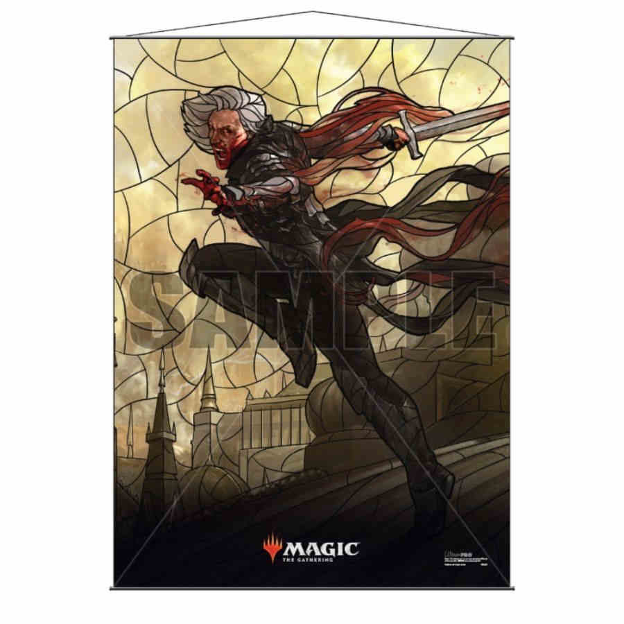 MTG Wall Scroll: Stained Glass Sorin