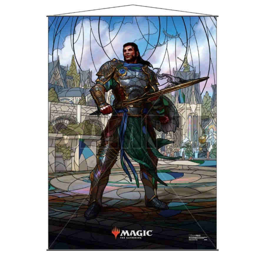 MTG Wall Scroll: Stained Glass Gideon