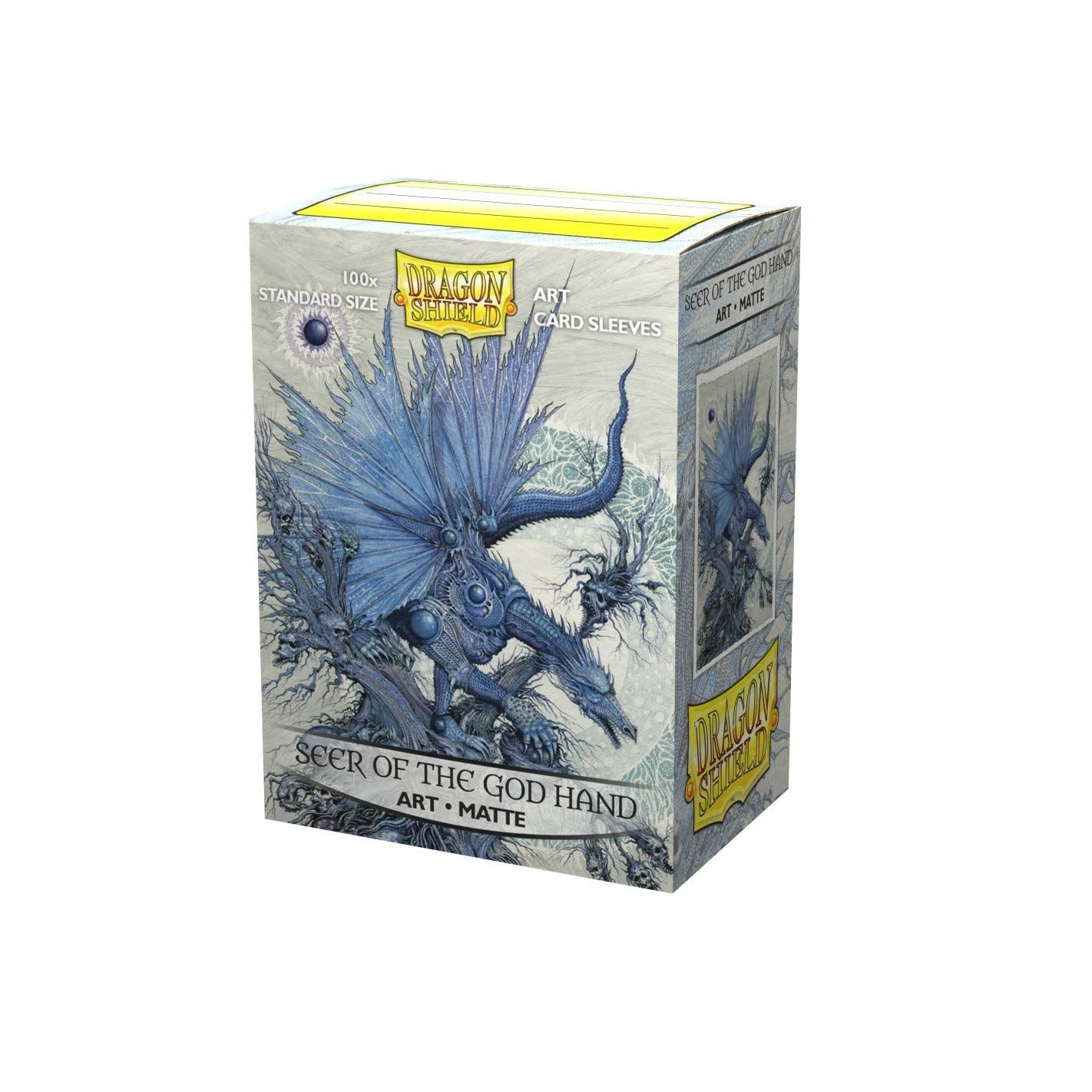 Seer of the God Hand Dragon Shield Sleeves Ltd. Ed. Matte Art 100ct