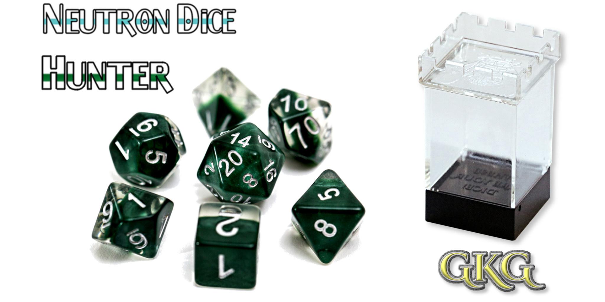 Neutron Dice - Hunter Dice Set