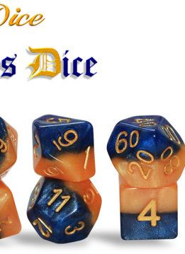 Halfsies Dice - King's Dice Set