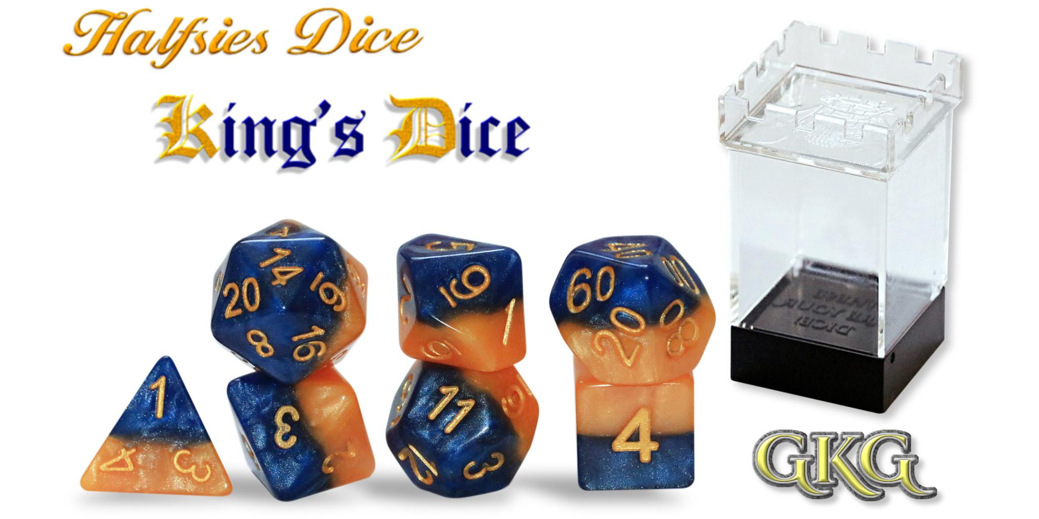 Halfsies Dice - King's Dice Set
