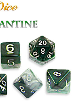 Halfsies Dice - Adamantine Dice Set
