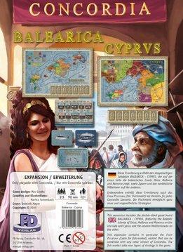 Concordia: Balearica / Cyprus Exp.
