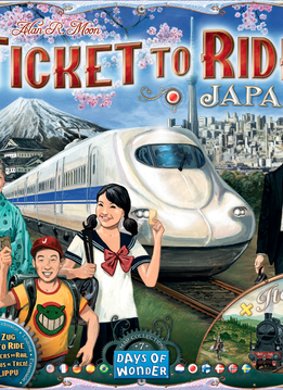 Ticket to Ride Map #7: Japan / Italy