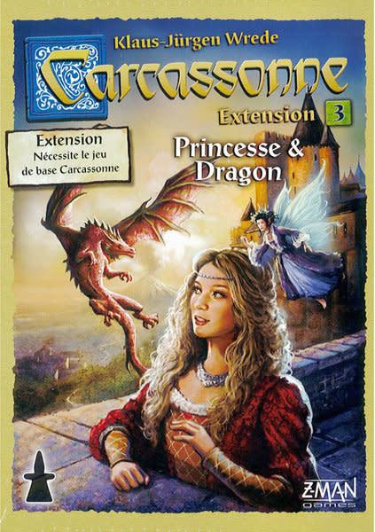 Carcassonne: Ext. 3 Princesse et Dragons (FR)