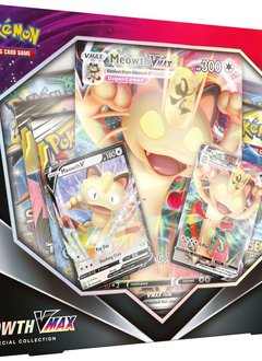 Pokemon V Teaser Meowth Vmax Box