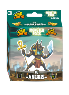 King of Tokyo/New York - Monster Pack: Anubis (FR)