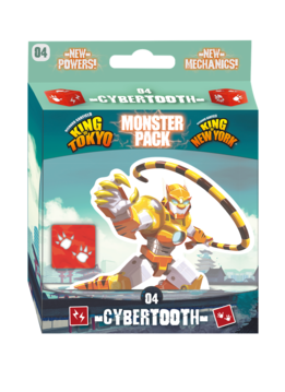 King of Tokyo/New York - Monster Pack: Cybertooth (FR)