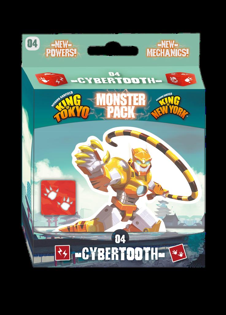 King of Tokyo/New York - Monster Pack: Cybertooth (FR)